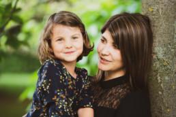 Kinder in Erfurt Herausgeberin Anne mit Tochter Amelie.