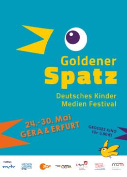 Deutsches Kindermedienfestival Goldener Spatz findet vom 24.-30. Mai in Erfurt und Gera statt