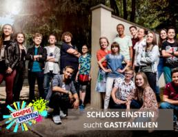 Schloss Einstein sucht Gastfamilien