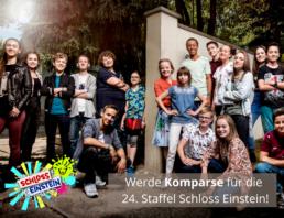 Schloss Einstein Komparsen Casting
