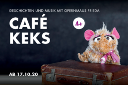 Opernmaus Frieda Theater Erfurt